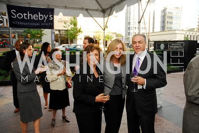 Kyle Samperton,October 15,2010,TTR/Sotheby's opening for Chevy Chase office,Zelda Heller,Tanya Messeca,Sam Messeca