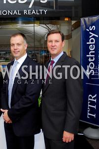 Kyle Samperton,October 15,2010,TTR/Sotheby's opening for Chevy Chase office,David DeSantis,Derrick Swaak
