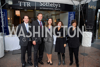 Kyle Samperton,October 15,2010,TTR/Sotheby's opening for Chevy Chase office,Russell Firestone,Derrick Swaak,Jennifer Hammond.Katherine Kranenburg,Fran Hagen