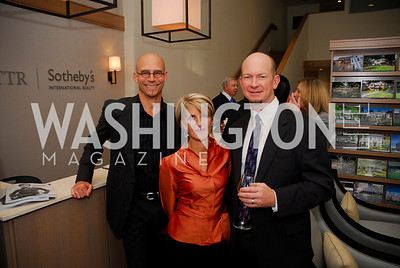 Kyle Samperton,October 15,2010,TTR/Sotheby's opening for Chevy Chase office,Michael Biedler,Carroll Dey,Kelly Williams
