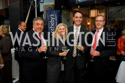 Kyle Samperton,October 15,2010,TTR/Sotheby's opening for Chevy Chase office,Rick Leverrier,Amy Skidmore,Brent Jackson,Tad Moore
