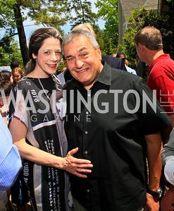 Heather and Tony Podesta. Photo by Tony Powell. Tammy Haddad WHCAD Garden Brunch. May 1, 2010