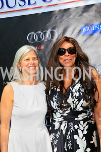 Susan Axelrod, Wendy Williams. Photo by Tony Powell. Tammy Haddad WHCAD Garden Brunch. May 1, 2010