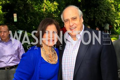 Rhoda and Dan Glickman. Photo by Tony Powell. Tammy Haddad WHCAD Garden Brunch. May 1, 2010