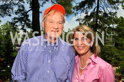 Chris and Kathleen Matthews. Photo by Tony Powell. Tammy Haddad WHCAD Garden Brunch. May 1, 2010