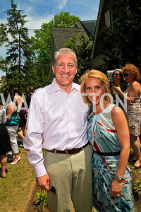 John King, Dana Bash. Photo by Tony Powell. Tammy Haddad WHCAD Garden Brunch. May 1, 2010
