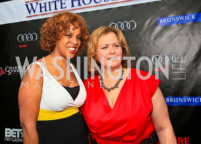 Gayle King, Hilary Rosen. Photo by Tony Powell. Tammy Haddad WHCAD Garden Brunch. May 1, 2010