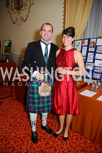 Michael Collins, Natanya Robinowitz, Tartan Ball, November 13, 2010, Kyle Samperton