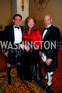 David Cameron, Lisa Lake, Bart Forbes, Tartan Ball, November 13, 2010, Kyle Samperton
