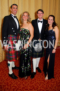 T.J. Holland, Kim Holland, J.B. Meek, Kate Meek, Tartan Ball, November 13, 2010, Kyle Samperton
