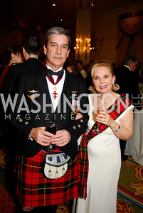 Stevenson Wallace, Joyce Wallace, Tartan Ball, November 13, 2010, Kyle Samperton
