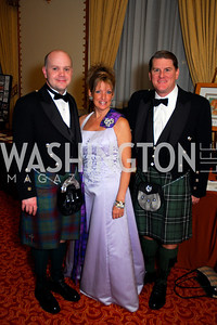 Andrew Bell, Rhonda Wardlaw, Scott Burrell, Tartan Ball, November 13, 2010, Kyle Samperton