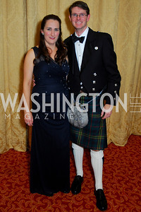 Kate Meek, J.B. Meek, Tartan Ball, November 13, 2010, Kyle Samperton