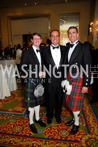 J.B. Meek, David Wiley, T.J. Holland, Tartan Ball, November 13, 2010, Kyle Samperton