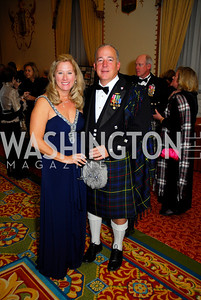 Lorie Bain, Gil Smith, Tartan Ball, November 13, 2010, Kyle Samperton