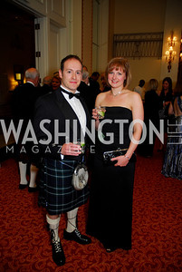 Darren Burgess, Lorna Dykes, Tartan Ball, November 13, 2010, Kyle Samperton