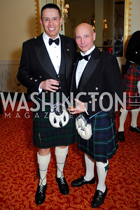 Antonio Urie, Bart Forbes, Tartan Ball, November 13, 2010, Kyle Samperton