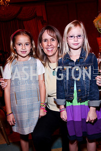 Photo by Tony Powell. Sofia and Isabel Ernst, Audrey Leins. Tea with Mrs. B to Benefit THEARC. Four Seasons. October 17, 2010