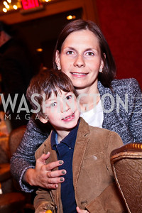 Photo by Tony Powell. Sasha and Ludmila Cafritz. Tea with Mrs. B to Benefit THEARC. Four Seasons. October 17, 2010