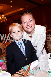 Photo by Tony Powell. Charlie and Holly Caldwell. Tea with Mrs. B to Benefit THEARC. Four Seasons. October 17, 2010