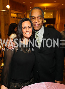 Rebecca Fishman Harris and Washington DC International Film Festival Director Tony Gittens.