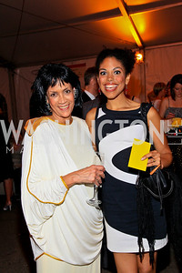 Anne Ashmore Hudson, Karla Mosley. Photo by Tony Powell. 18th Annual Arena Stage Benefit for Community Engagement. May 4, 2010