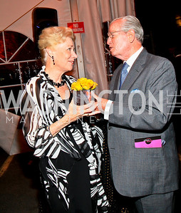 Dorothy and Bill McSweeny. Photo by Tony Powell. 18th Annual Arena Stage Benefit for Community Engagement. May 4, 2010