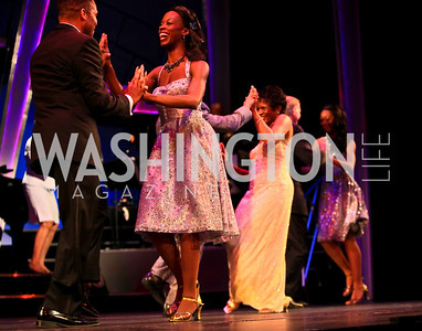 """""""So They Think They Can Dance"""" Swingin' Washingtonians. Photo by Tony Powell. 18th Annual Arena Stage Benefit for Community Engagement. May 4, 2010"""
