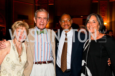 Bitsey Folger, Sidney Werkman, Ed Arrendell, DD Eisenberg. Photo by Tony Powell. 18th Annual Arena Stage Benefit for Community Engagement. May 4, 2010