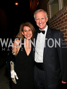 Angela Fox, Jack Evans. Photo by Tony Powell. 18th Annual Arena Stage Benefit for Community Engagement. May 4, 2010