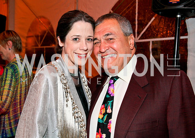 Heather and Tony Podesta. Photo by Tony Powell. 18th Annual Arena Stage Benefit for Community Engagement. May 4, 2010