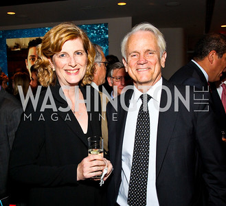 Photo by Tony Powell. Lucy Dalglish, Shelby Coffey. The 20th Anniversary Celebration of The Center for  Public Integrity. Newseum. October 21, 2010