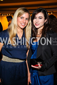 Photo by Tony Powell. Christina Norwich, Elizabeth Douglas. The 20th Anniversary Celebration of The Center for  Public Integrity. Newseum. October 21, 2010
