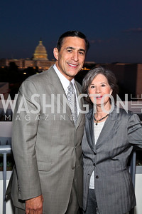 Photo by Tony Powell. California Congressman Darrell and Kathy Issa. The 20th Anniversary Celebration of The Center for  Public Integrity. Newseum. October 21, 2010