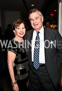 Photo by Tony Powell. Adrienne Arsht, Hodding Carter. The 20th Anniversary Celebration of The Center for  Public Integrity. Newseum. October 21, 2010