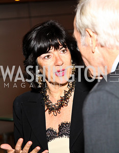 Photo by Tony Powell. Christiane Amanpour. The 20th Anniversary Celebration of The Center for  Public Integrity. Newseum. October 21, 2010