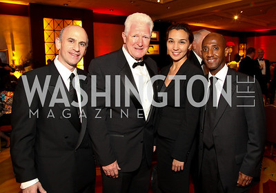 Mitchell Schear, VA Congressman Jim Moran, Valerie Santos, Neil Albert. Photo by Tony Powell