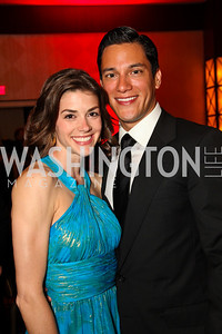 Margaret Anne Florence, Nicholas Rodriguez. Photo by Tony Powell