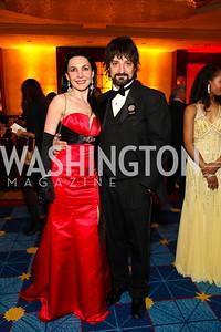 Irina and Paata Tsikurishvili. Photo by Tony Powell