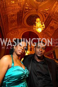 Angela Koukovi, Lance Coadie Williams. Photo by Tony Powell