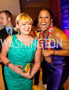 Karissa Swanagan, Eleasha Gamble. Photo by Tony Powell