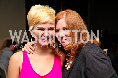 """Photo by Tony Powell. Haley and Susan Koch. """"The Other City"""" Screening Afterparty. The Source. June 22, 2010"""