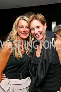 """Photo by Tony Powell. Joan Vassos, Miriam Pollin. """"The Other City"""" Screening Afterparty. The Source. June 22, 2010"""