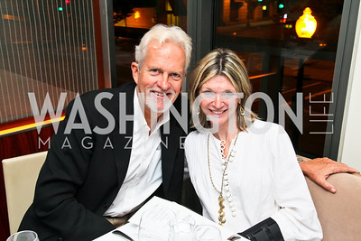 "Photo by Tony Powell. Jack Davies, Kay Kendall. ""The Other City"" Screening Afterparty. The Source. June 22, 2010"