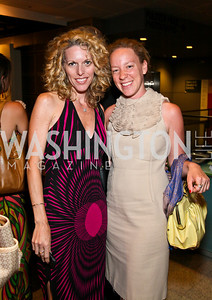 """Photo by Tony Powell. Jennifer Vinson, Andrea Harley. """"The Other City"""" Screening Afterparty. The Source. June 22, 2010"""