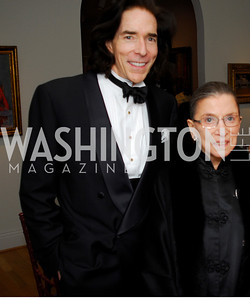 Kyle Samperton, May 17, 2010, The Phillips Collection Gala, George Crowley, Ruth Bader Ginsburg