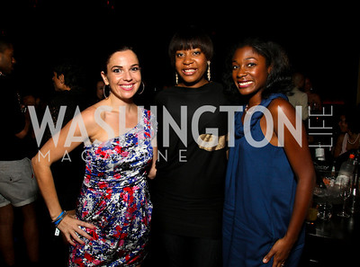 Photo by Tony Powell. Vanessa Camozzi, Aidah Fontenot, Markette Smith