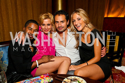 Photo by Tony Powell. Adrin Seven Washington, Tia Mamada, Neven Radovic, Vanja Simovic