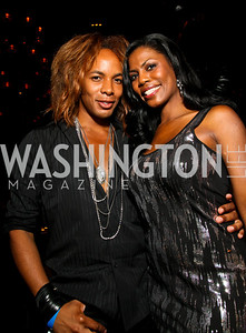 Photo by Tony Powell. Paul Wharton, Omarosa Manigault-Stallworth