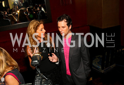 Photo by Tony Powell. Mary Amons, Michael Clements. The Real Housewives of DC Premiere Afterparty. Buddha Bar. August 5, 2010